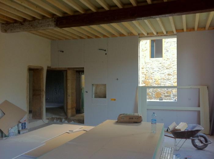 Rehabilitation d'une maison individuelle : IMG_1668