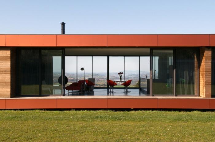 Maison contemporaine bois & paille : Maison GALLET ARCHITECTES_04