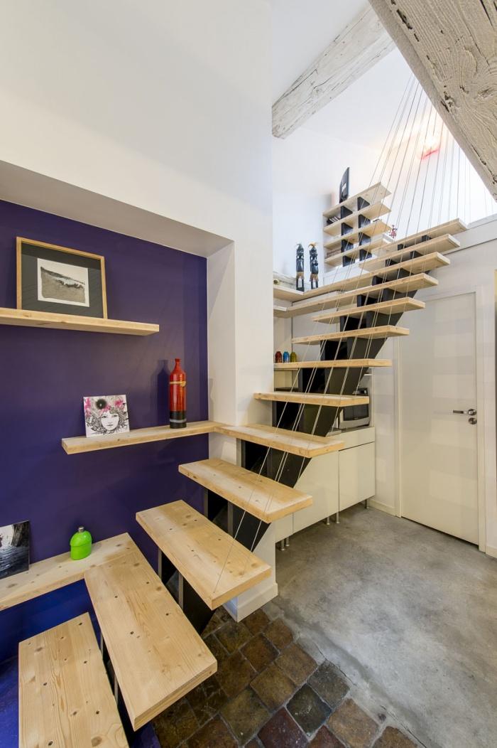 Création d'un duplex : escalier