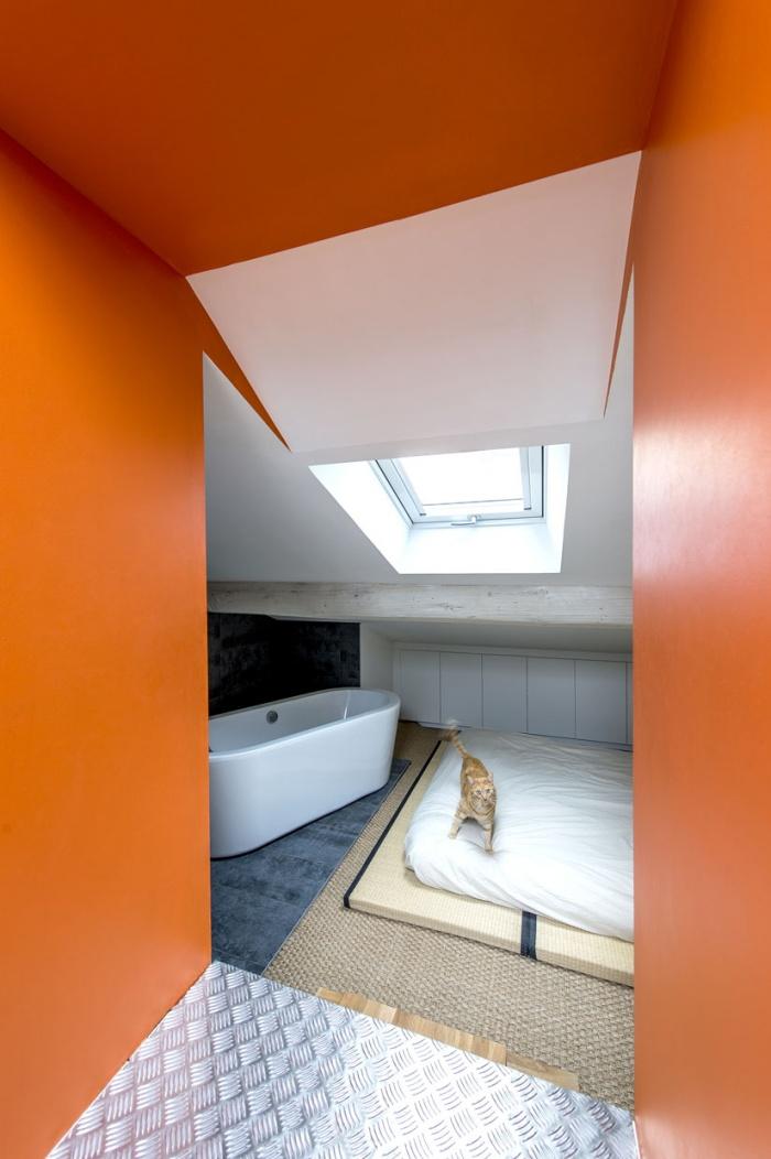 Création d'un duplex : chambre 2