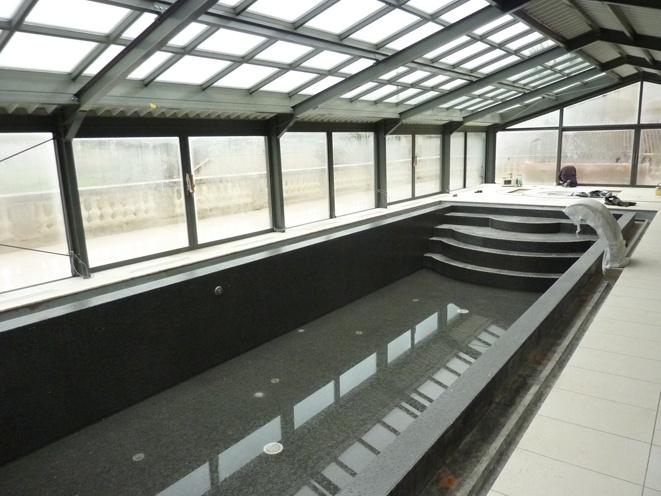 Création d'une piscine couverte : 01
