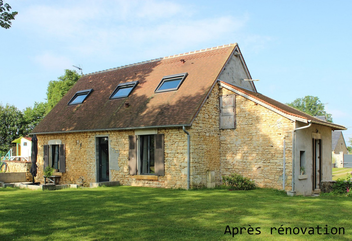 Rénovation d'une maison